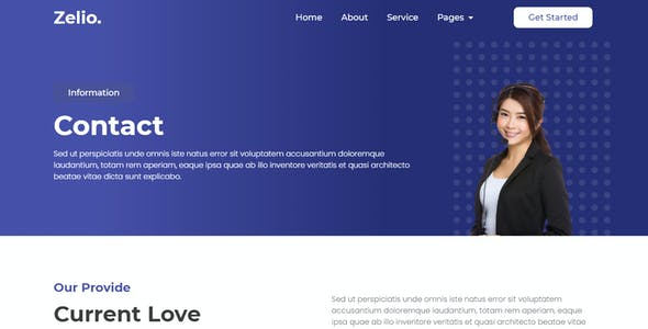 Zelio - Digital Agency Elementor Template Kit