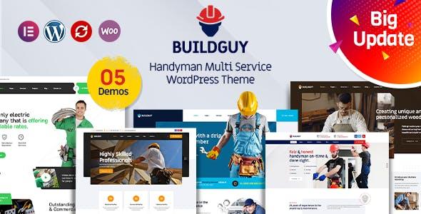 Buildguy - Handyman Renovation Services WordPress Theme