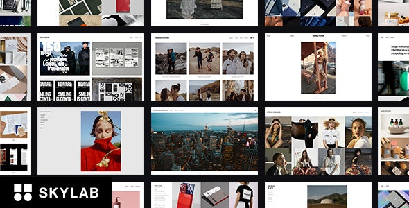 Skylab - Responsive Creative Portfolio WordPress Theme - Photography Creative
