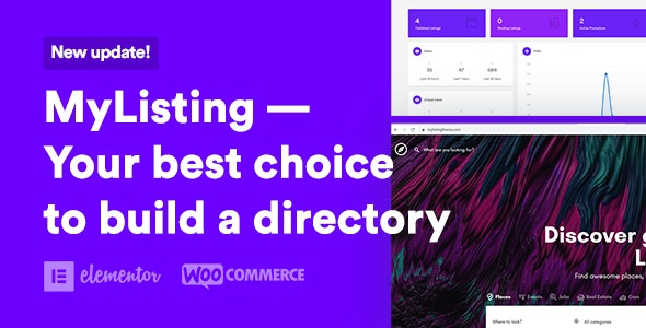 MyListing v2.6.8 – Directory & Listing WordPress Theme