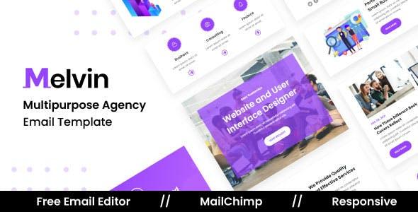 Melvin Agency - Multipurpose Responsive Email Template