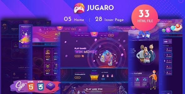 Jugaro- eSports and Gaming HTML Templates