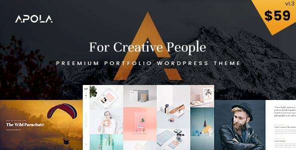 Apola - Photography Portfolio WordPress Theme