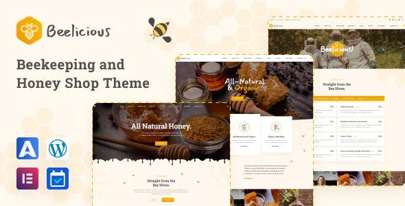 Beelicious - Beekeeping and Honey Shop Theme - Food Retail