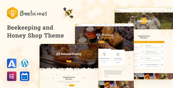 Beelicious - Beekeeping and Honey Shop Theme