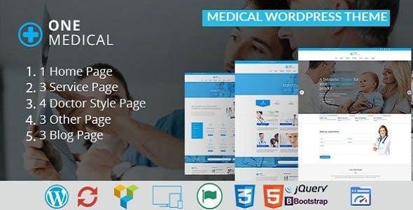 OneMedical - Responsive Medical WordPress Theme