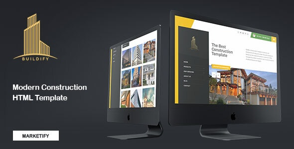 Buildify - Construction HTML Template - Business Corporate