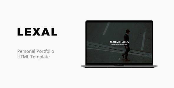 Lexal- Personal Portfolio Template