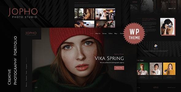Jopho – Creative Photography WordPress Theme - Portfolio Creative