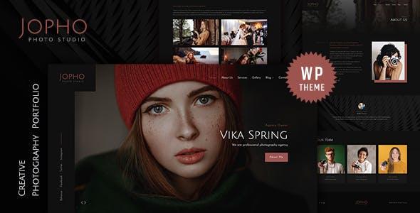 Jopho – Creative Photography WordPress Theme