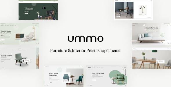 Leo Ummo - Furniture & Interior Prestashop Theme