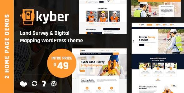Kyber - Surveyor WordPress Theme - Business Corporate