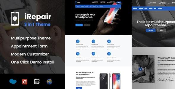 Mobile & Electronic Repair - Retail WordPress