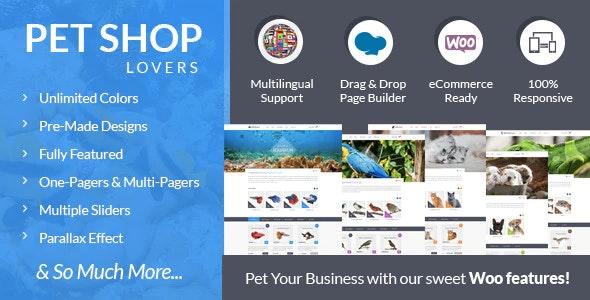 Pet Shop Lovers - Woo/eCommerce WP Theme - WooCommerce eCommerce