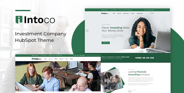 Intoco - Investment Company HubSpot Theme - Corporate HubSpot CMS Hub