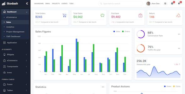 Skodash - Bootstrap 5 Admin Template