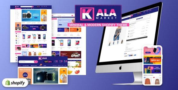 KalaMarket - Minimal & Modern Responsive Shopify theme - Shopping Shopify