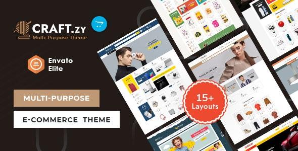 Craftzy - OpenCart Multi-Purpose Responsive Theme - OpenCart eCommerce