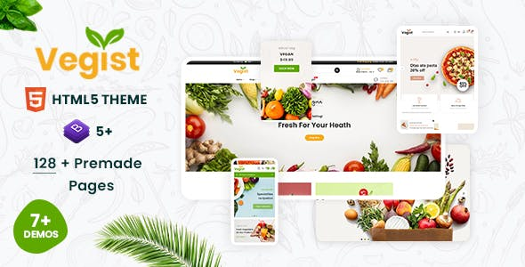 Vegist - Multipurpose eCommerce HTML Template