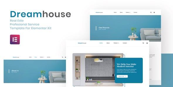 Dreamhouse - Real Estate Elementor Template Kit