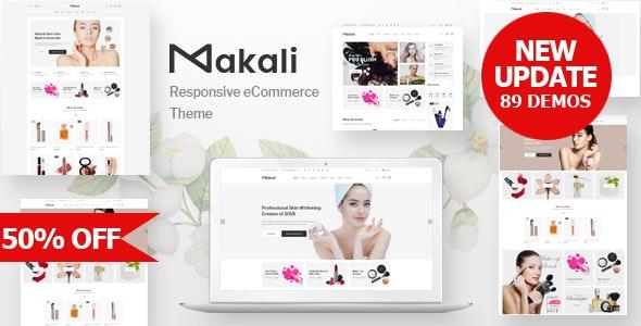 Makali v1.4.3 – Cosmetics & Beauty Theme