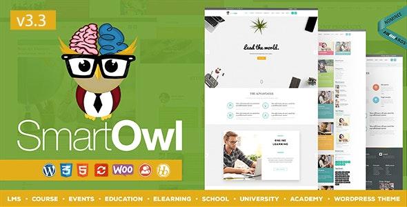 SmartOWL - LMS Education WordPress Theme - Education WordPress