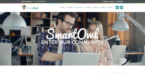 SmartOWL - LMS Education WordPress Theme