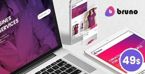Bruno - Creative Multi Purpose WordPress Theme - Creative WordPress