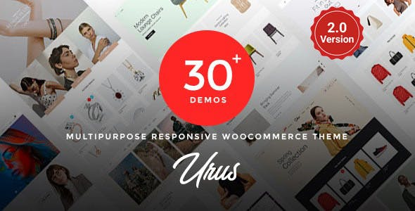 Urus - Multipurpose Responsive WooCommerce Theme