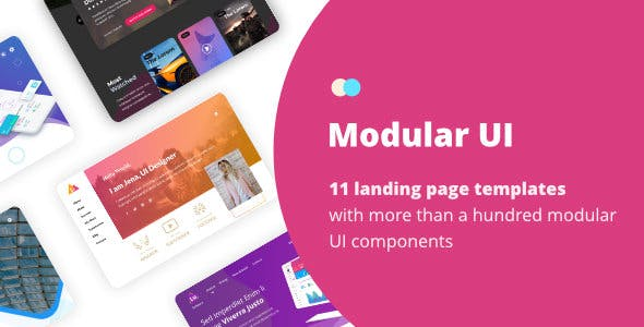 Maestrolux - HTML Landing Page Collection