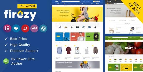 Firezy – Multipurpose WooCommerce Theme (14 August 2021)