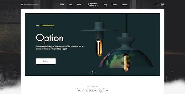Agota - WordPress WooCommerce Elementor Theme