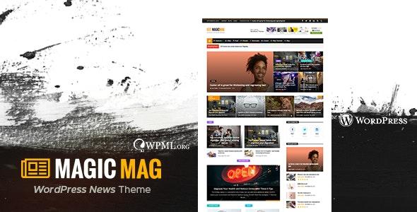 Magic — WordPress Newspaper Magazine Blog AMP Theme - News / Editorial Blog / Magazine