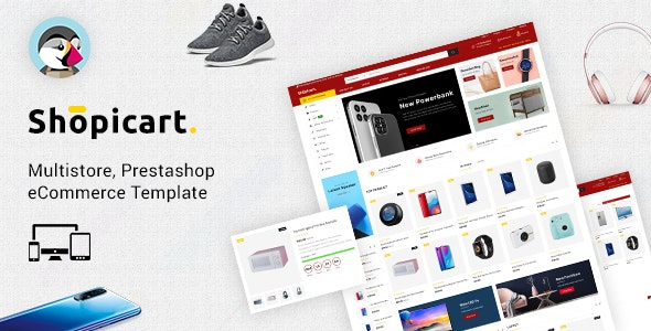 ShopiCart - Premium Multipurpose PrestaShop Theme - Technology PrestaShop