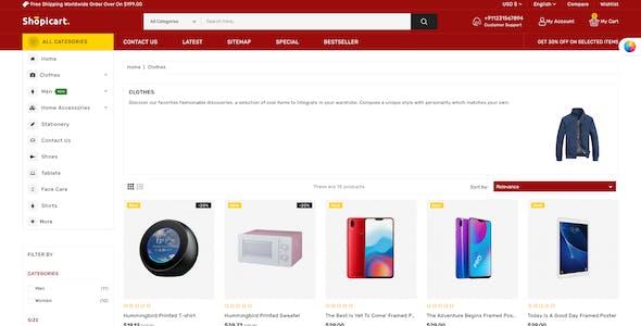 ShopiCart - Premium Multipurpose PrestaShop Theme