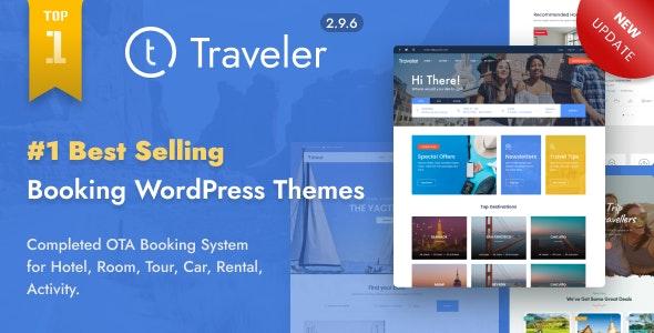 Traveler v2.9.6 – Travel Booking WordPress Theme