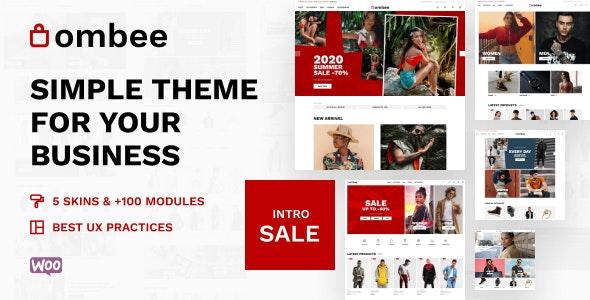 Ombee - Multipurpose and Fashional WooCommerce Theme - WooCommerce eCommerce