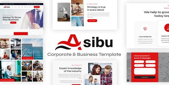 Asibu – Responsive Multipurpose Joomla 4 compatibility Template - Business Corporate