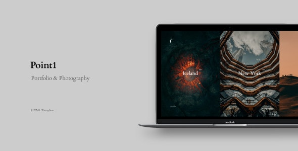 Point1 - Creative Portfolio & Photography Template - Creative Site Templates