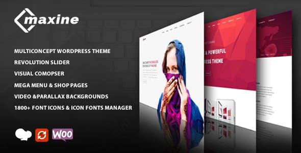 Maxine - Multi Concept WordPress Theme