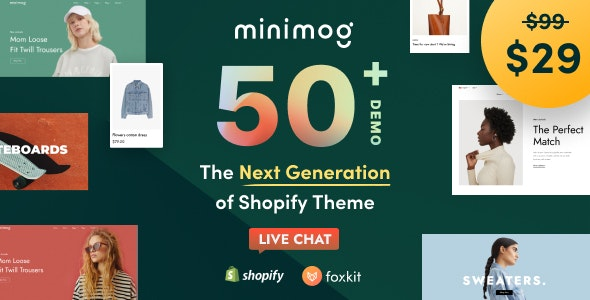 Minimog - The Next Generation Shopify Theme By ThemeMove