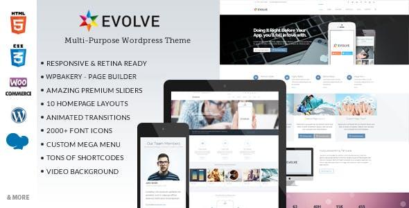 Evolve - Multipurpose WordPress Theme