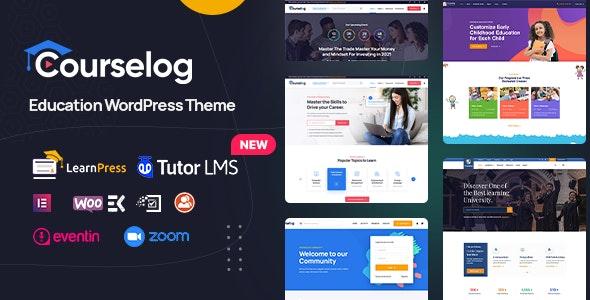 Courselog v1.3.4 – Education WordPress Theme