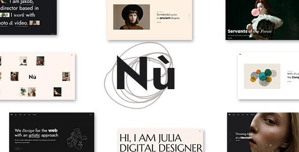 Nù - Creative Portfolio WordPress Theme - Portfolio Creative
