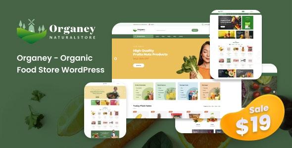 Organey v1.5.1 – Organic Food WooCommerce WordPress Theme