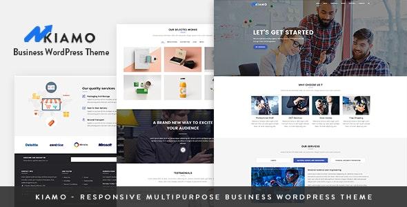 Kiamo - Responsive Business Service WordPress Theme - Business Corporate