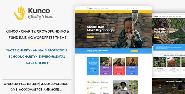 Kunco - Charity & Fundraising WordPress Theme - Charity Nonprofit