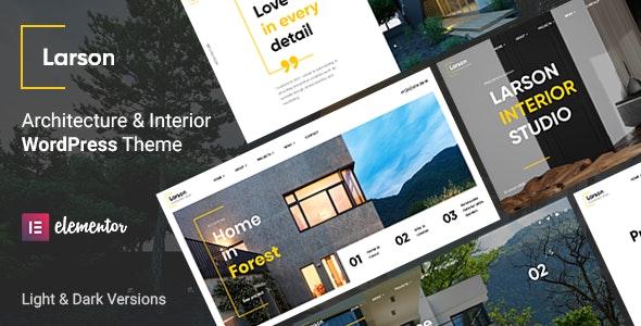 Larson - Architecture WordPress Theme - Business Corporate
