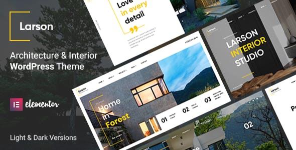 Larson - Architecture WordPress Theme