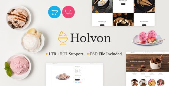 Holvon - Ice Cream OpenCart Theme